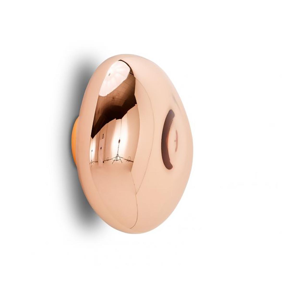 Melt Vegg- /Taklampe LED Kobber