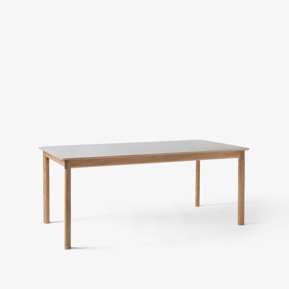 Patch Uttrekkbart Spisebord HW1 Hvitoljet Eik