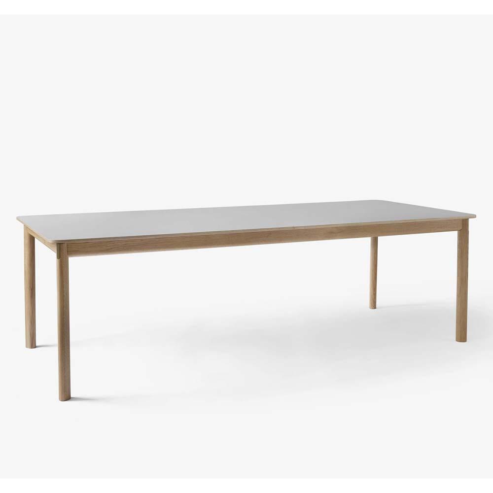 Patch Uttrekkbart Spisebord HW2 Hvitoljet Eik