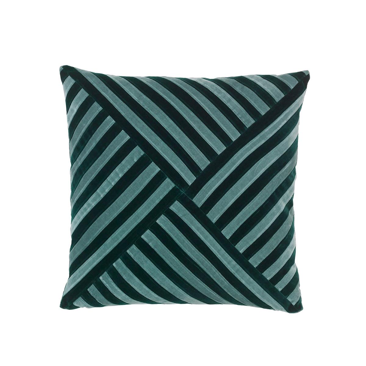55x55 Lily Pale Blue/Emerald