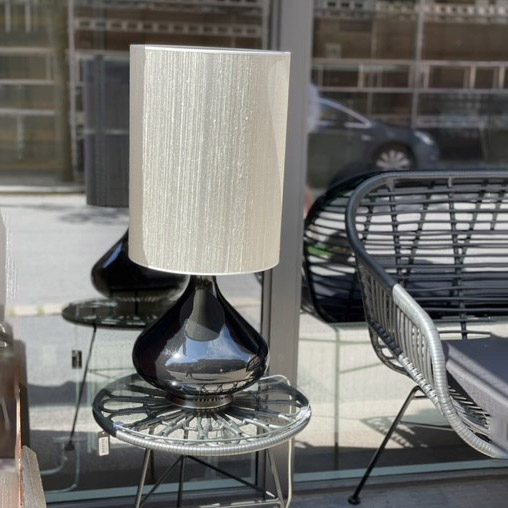 Flavia Bordlampe Sølv 40x30