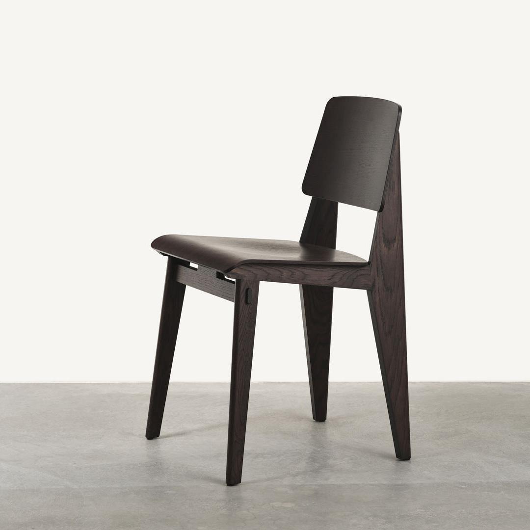 Chaise Tout Bois Chair Dark Oak
