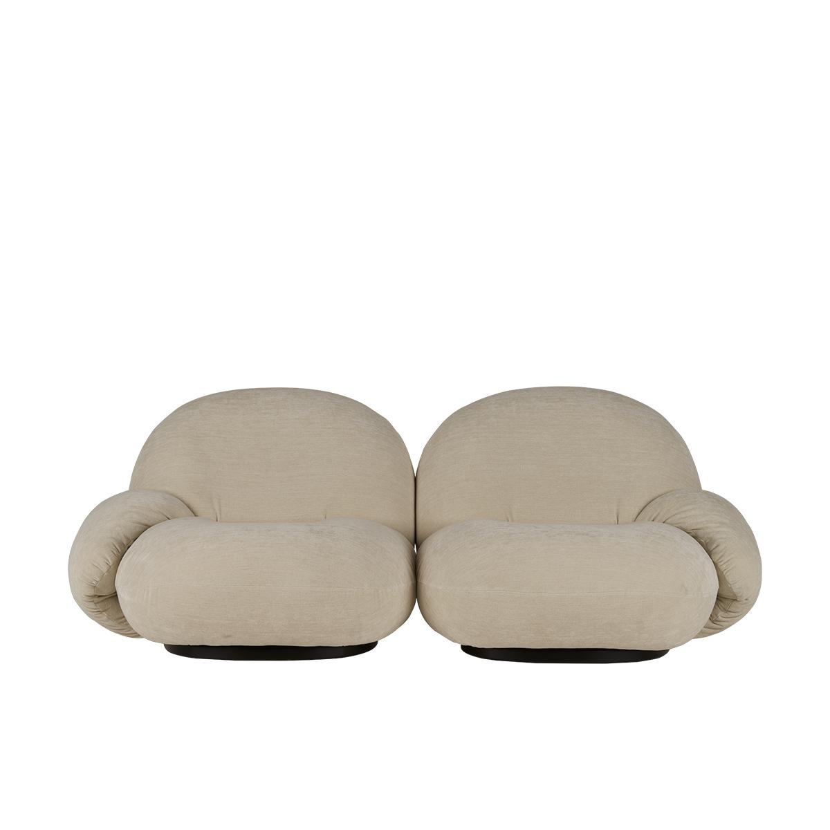 Pacha 2-seter Sofa m/armlener Black Base PG4