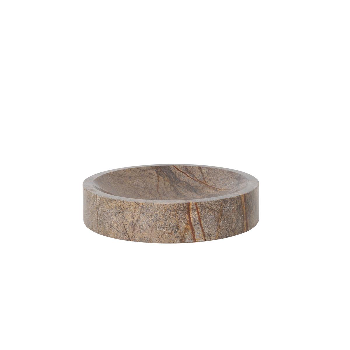 Bolle Scape fra Ferm Living i brun marmor