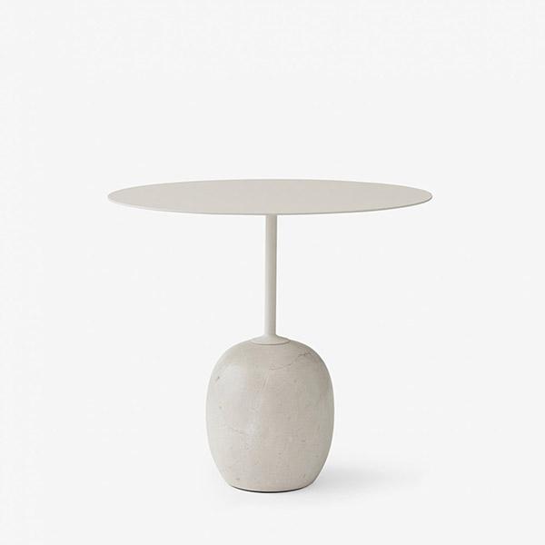 Lato Sidebord LN9 Ivory White/Crema Diva Marble