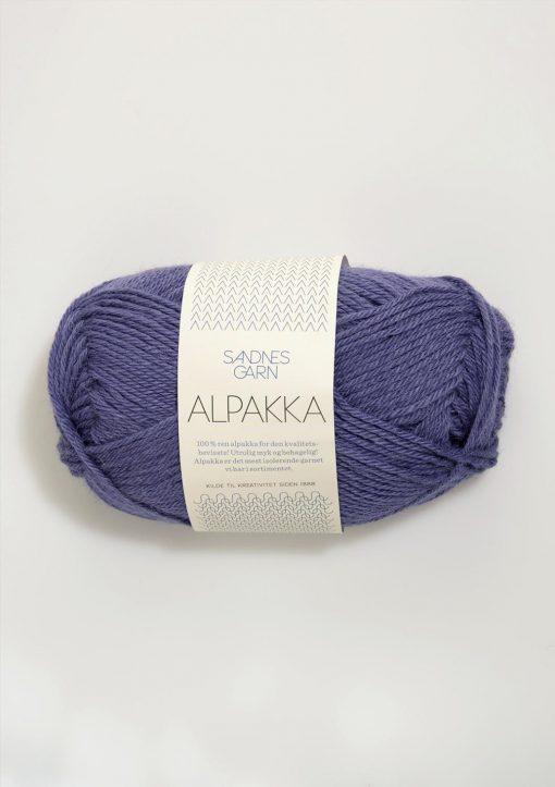 ALPAKKA    STØVET LILLA  5244
