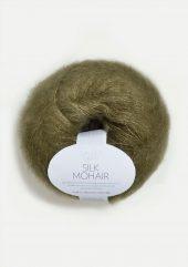 Silk Mohair, mosegrønn 9554