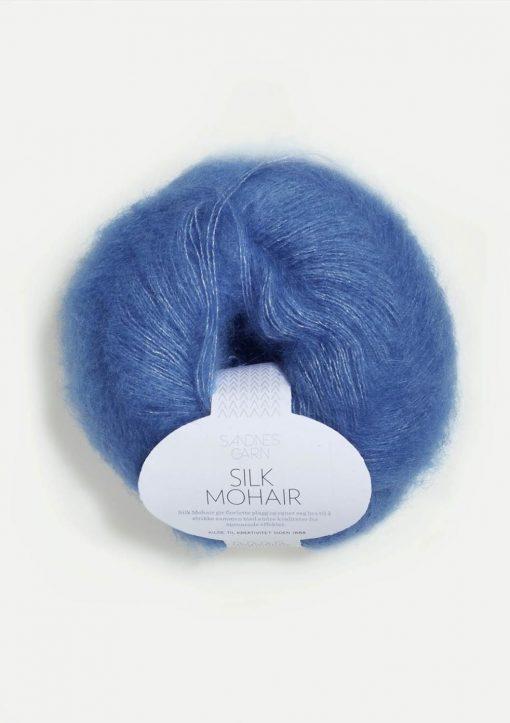 Silk Mohair, blåklokke 6016