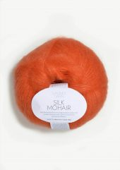 Silk Mohair, oransje 3509