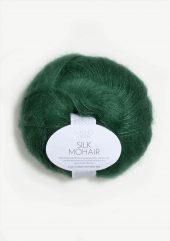 Silk Mohair, smaragd 7755