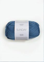 SUNDAY Mørk Himmelblå 6042