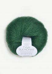TYNN SILK MOHIAR Smaragd  7755