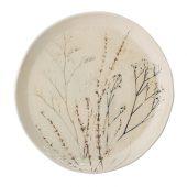 Bea tallerken 27,5 cm, Natur, Stenøj