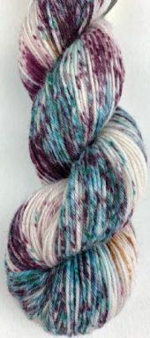 Selma håndfarget, farge 880806 Bordeaux