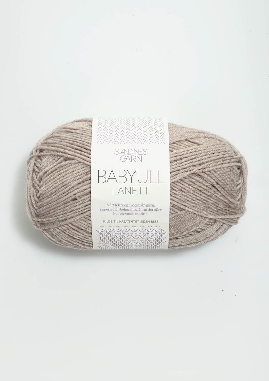 BABYULL LANETT    LYS BEIGEMELERT  2650
