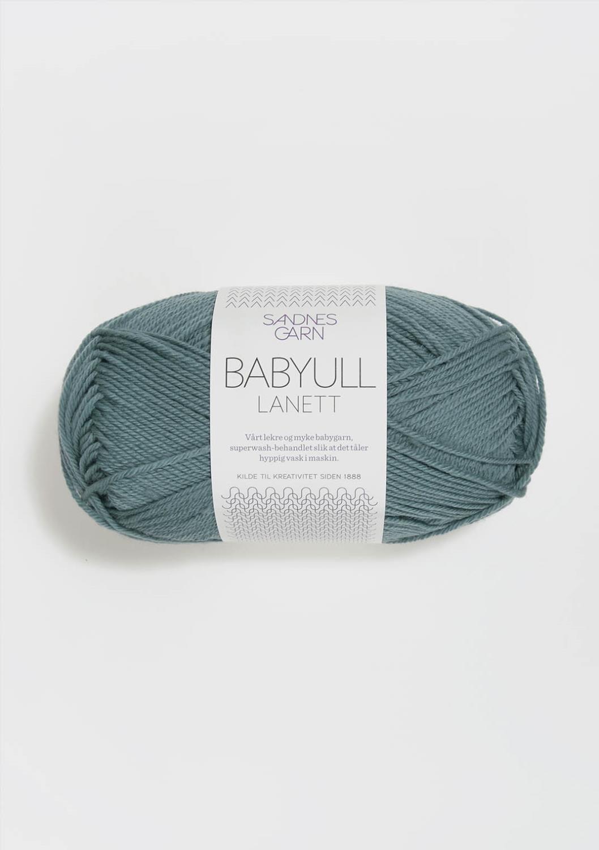 BABYULL LANETT      BLÅPETROL  7251