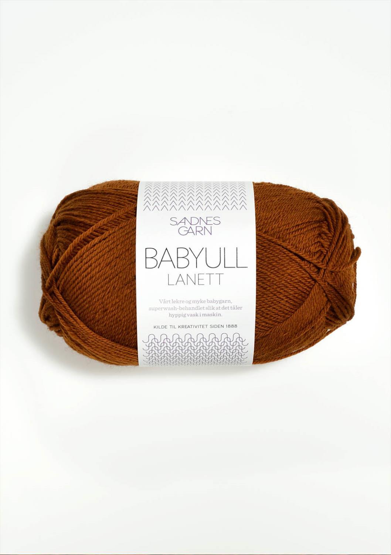 BABYULL LANETT  RUSTBRUN 2755