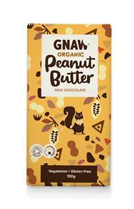 Gnaw Organic Milk Chokolate Peanut Butter