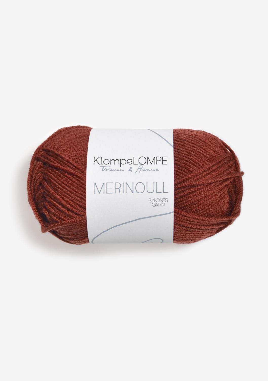 KLOMPELOMPE MERINOULL RUST 3355