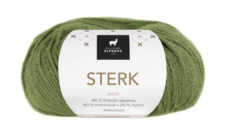 STERK 856 olivengrønn