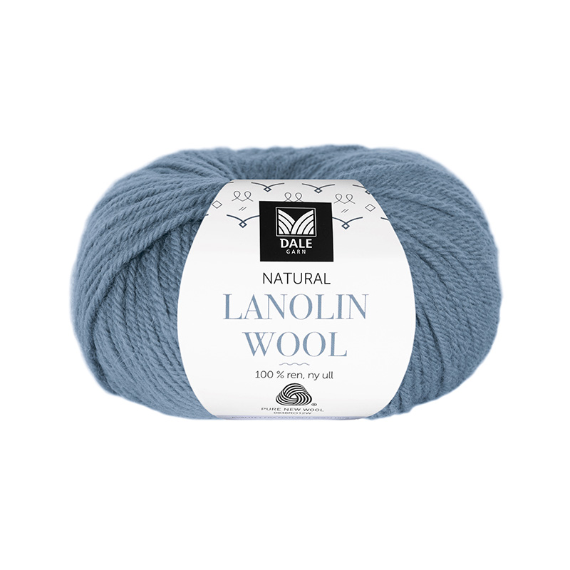 NATURAL LANOLIN WOOL 1433 Lys denim