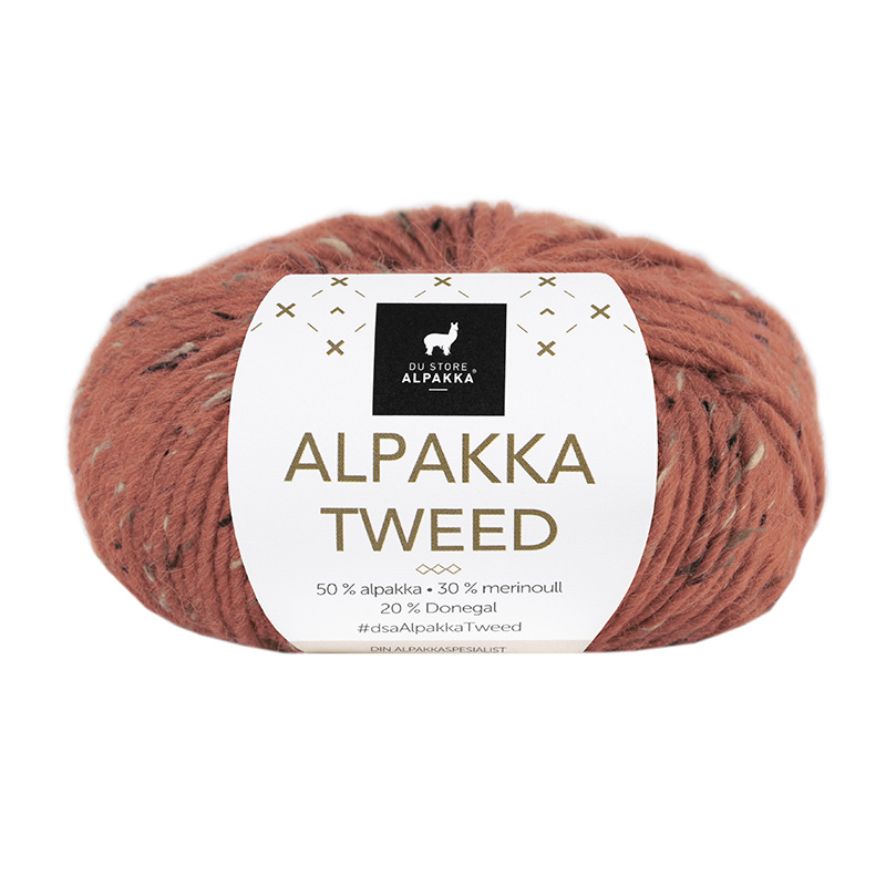 ALPAKKA TWEED 119 Terracotta