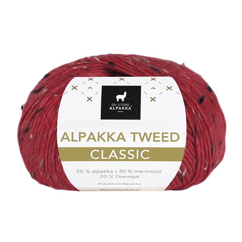 ALPAKKA TWEED CLASSIC 120 Rød