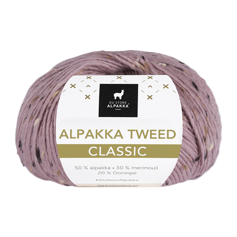 ALPAKKA TWEED CLASSIC 123 Rose