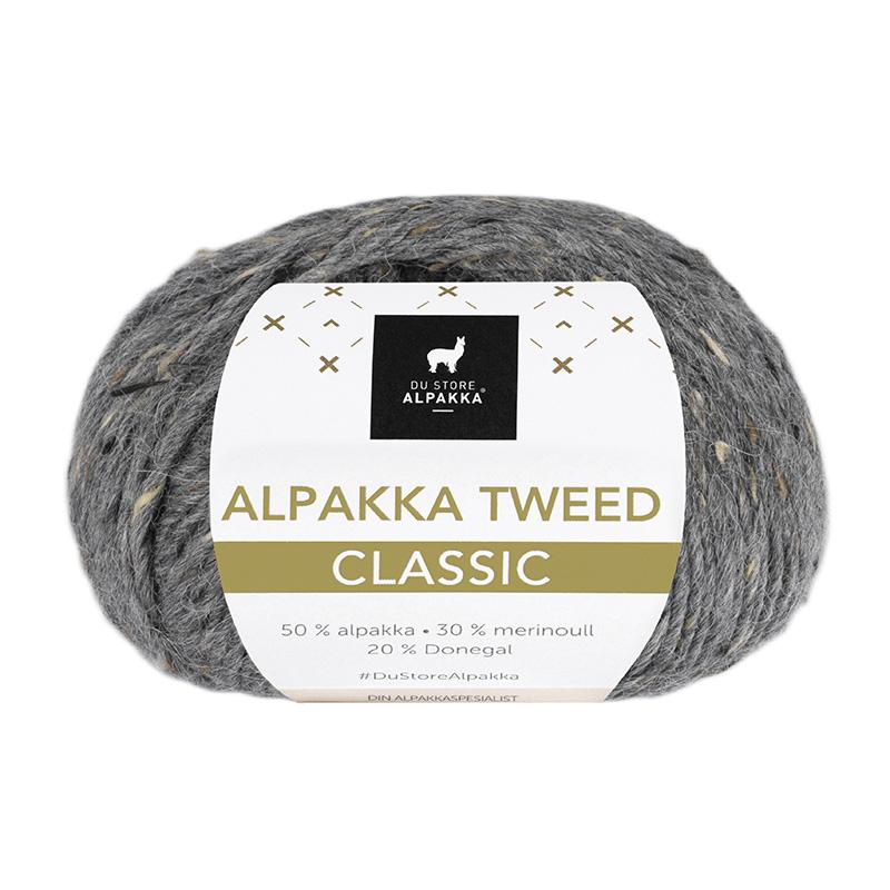 ALPAKKA TWEED CLASSIC 102 Mørk grå