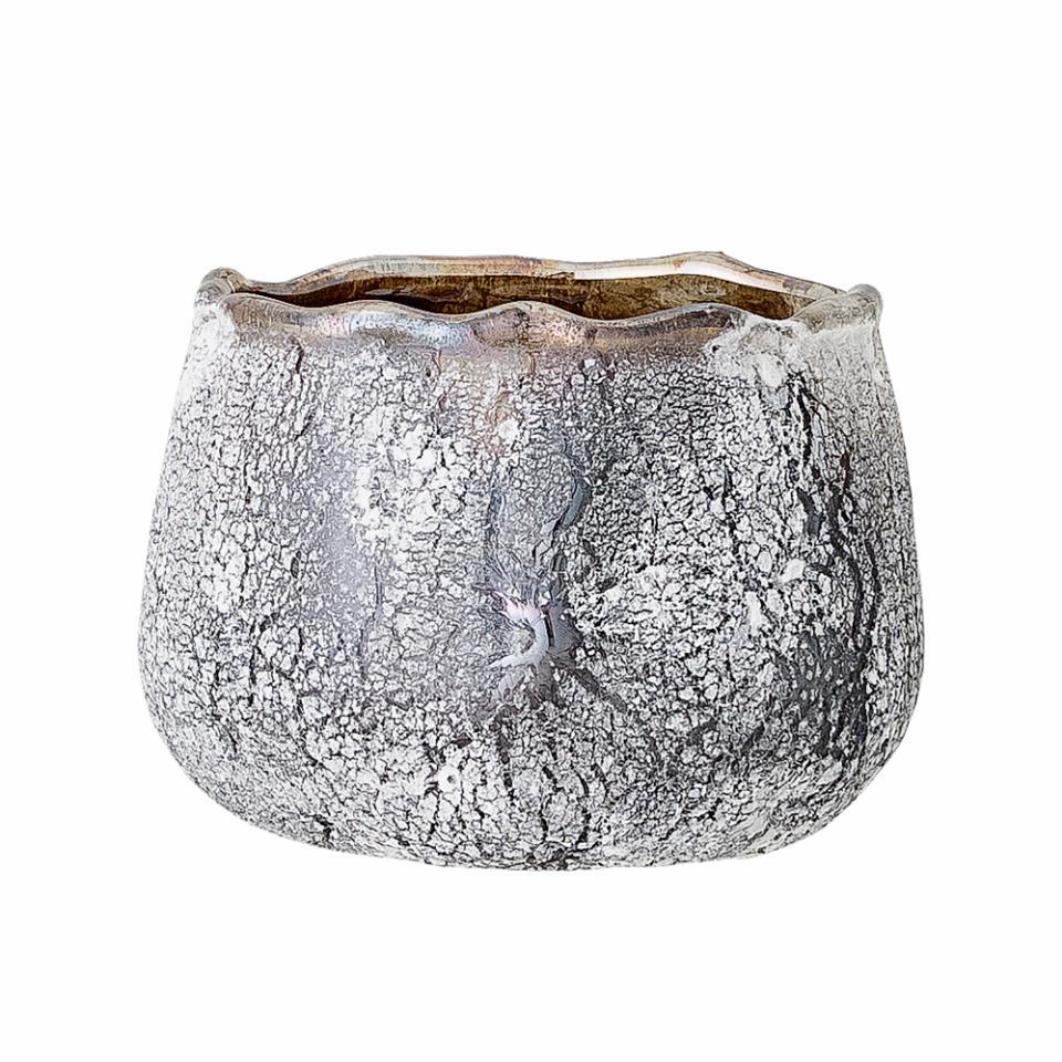 Telysglass, grå