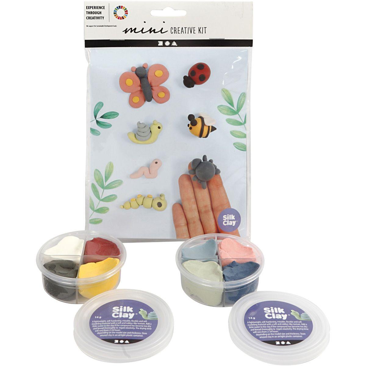 Mini kreative sett, insekter