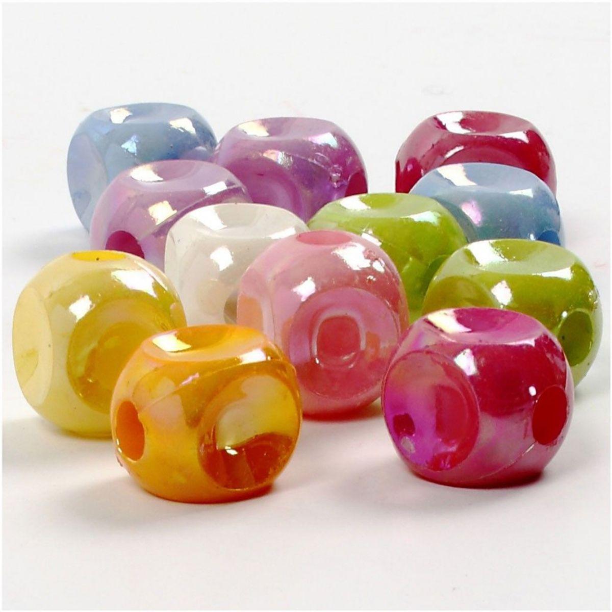 Perler, terningmix