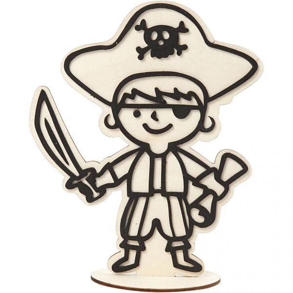 Dekorasjonsfigur, pirat