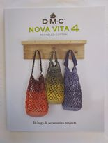 Oppskriftsbok DMC Nova vita, vesker