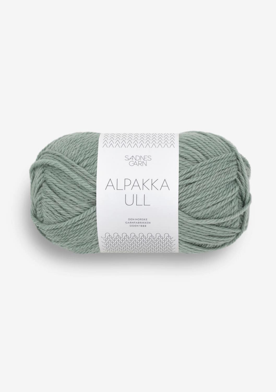 Alpakka ull Eucalyptus 8051
