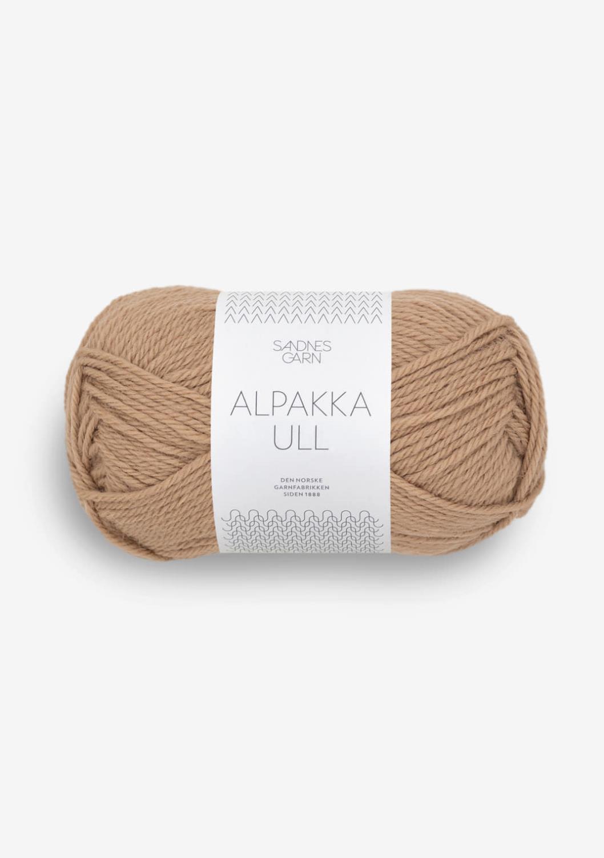 Alpakka ull camel 2542