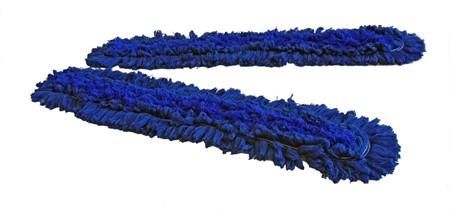 Moppegarn Meraklon Blå 100cm m/lomme