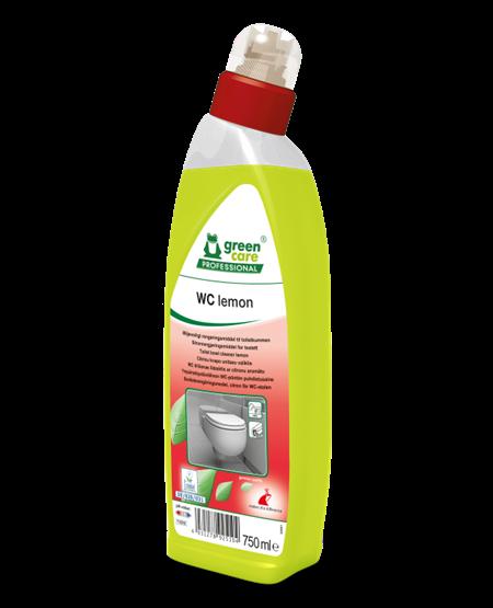 Toiletrens, Tana Green Care WC Lemon,750 ml