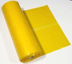 Avfallspose LD 60x90 gul 18my