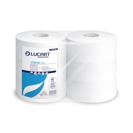 Toalettpapir 350M 2-L 6 Rull Pr Sekk Nyfiber