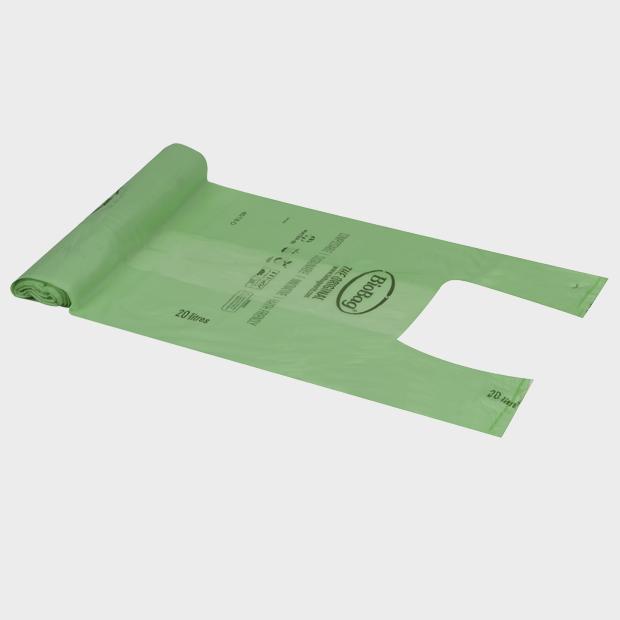 Bio Nedbrytbare Poser 350+200x600 I-M Not A Plastic bag