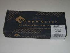Alufolie 11my 30cmx30m Wrapmaster