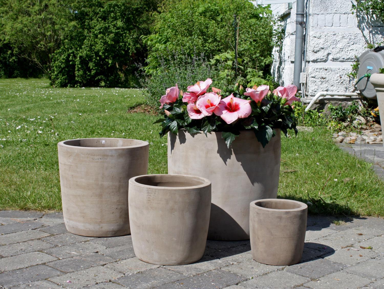 Terracotta krukke/rund (H50 Ø52)