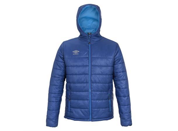 UMBRO Core Isopad Jacket jr Blå 164 Vattert jakke med hette