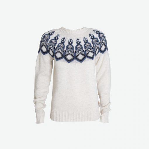 Tufte Wear  Unisex Bambull Blend Pattern Sweater