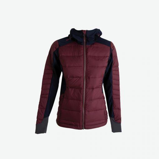 Tufte Wear  Womens Down Hybrid Jacket