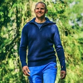 Tufte Wear  Bambull Blend Half-Zip Sweater