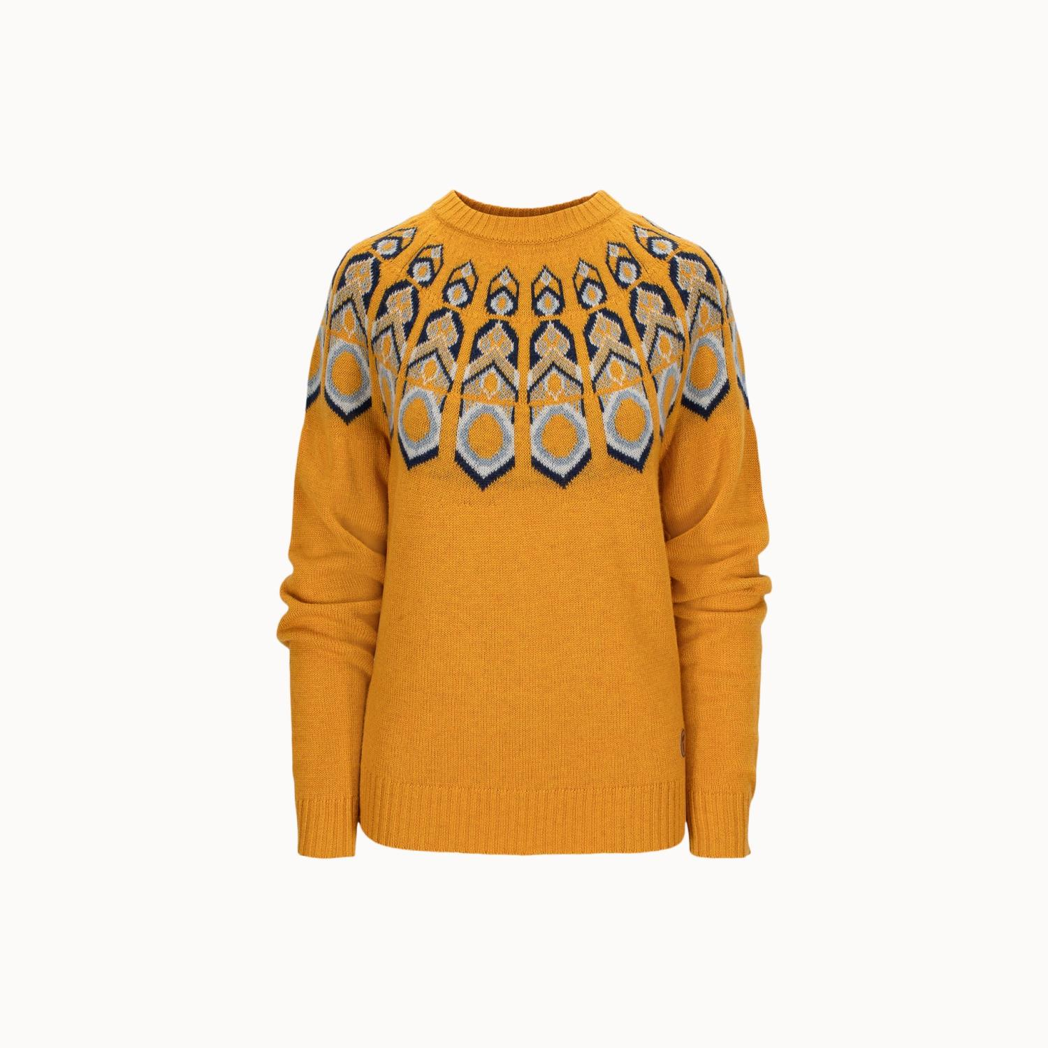 Tufte Wear  Womens Rosenfink Pattern Sweater