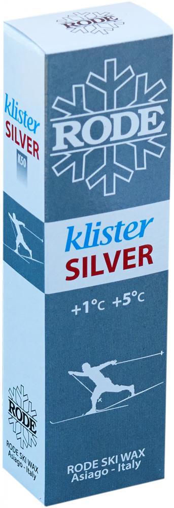 Klister K50 Silver Rode