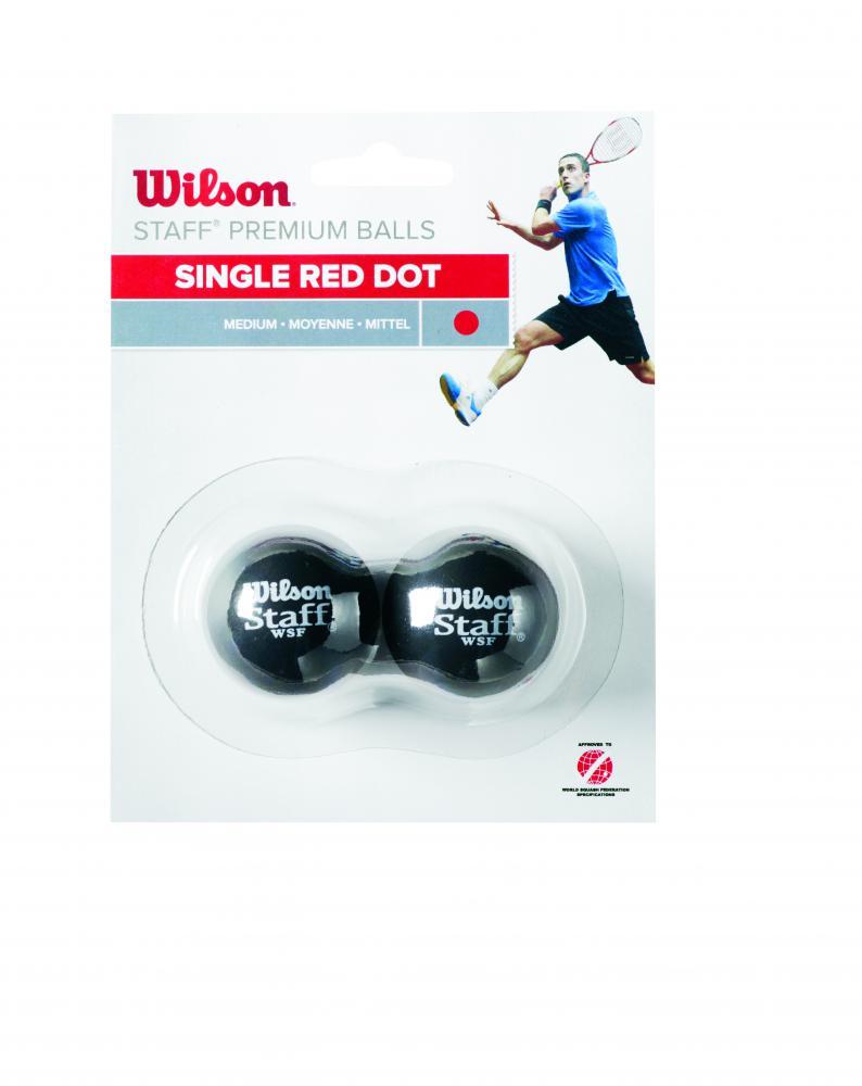 Wilson  STAFF SQUASH 2 BALL